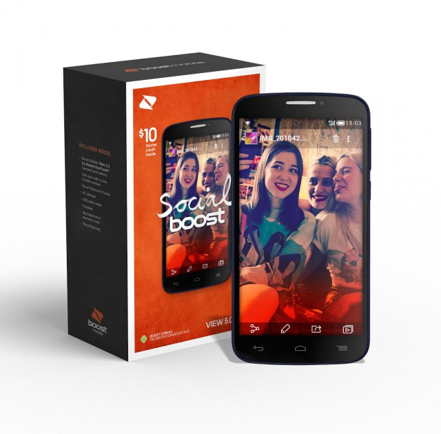 Boost Mobile View 5.0 by Alcatel OneTouch