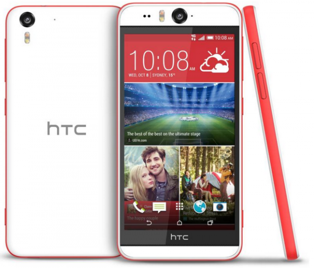 HTC Desire Eye - Coral Red