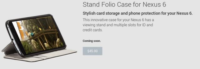 Nexus 6 Folio Stand