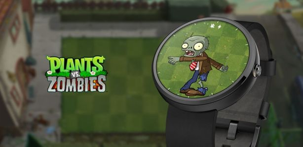 Android Wear Plants vs Zombies