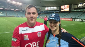 Danny Vukovic and Rachel