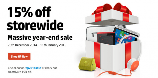 HP Boxing Day Sales