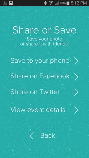 Santafy Yourself - Share Page