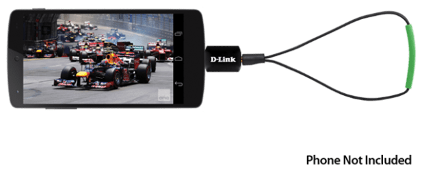 D-Link announces a micro-USB TV-Tuner for Android - Ausdroid