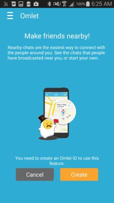 Omlet Social App