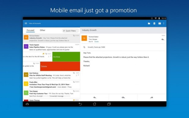Microsoft Outlook Preview for Android