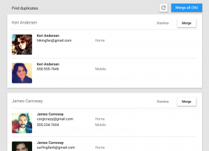 Contacts preview 2.5