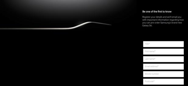 Galaxy S6 Micro-Site