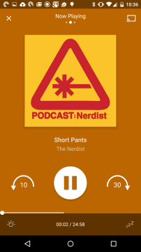 Pocket Casts - Mini Player - Colour 2