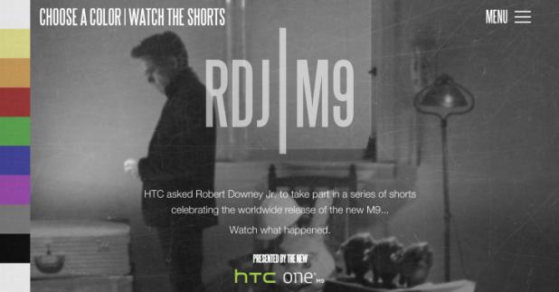 RDJ HTC One Videos