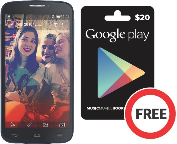 Boost Coles Google Play gift card bonus