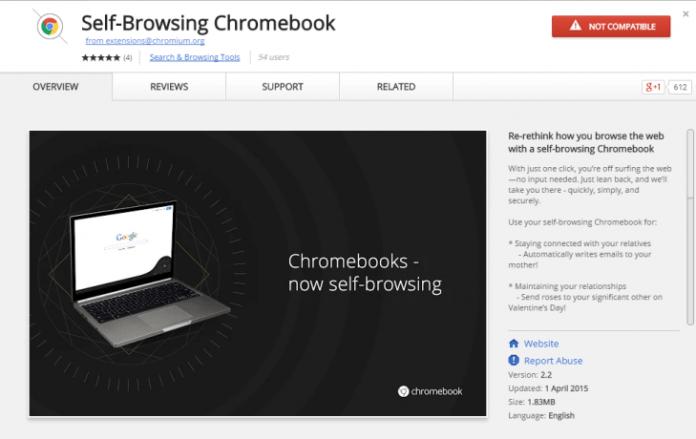 Google Chromebook Extension