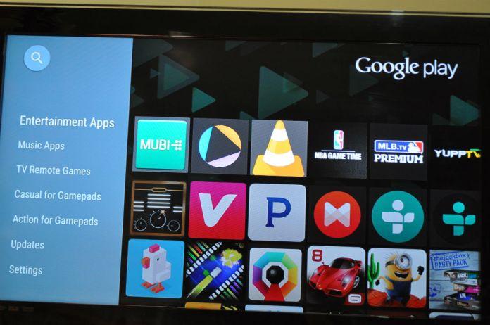 Nexus Player - Play Store