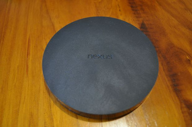 Nexus Player - Top