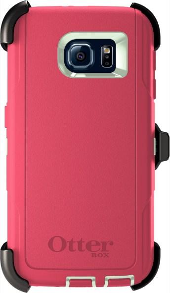 Samsung Galaxy S6 Defender Pink- 6