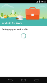Screenshot - Android for work 2