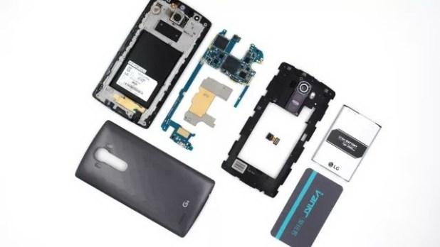 LG G4 torn down