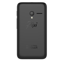 Alcatel OneTouch Pixi 3 (4.0) rear view