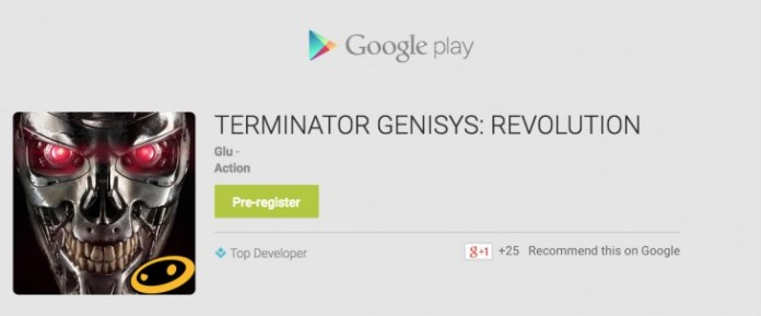 Termintator Genisys Revolution - Pre-Register