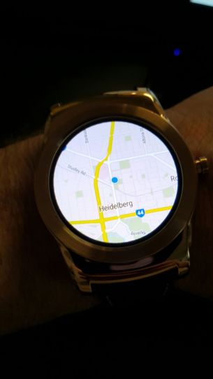 Watch Urbane - Maps mini-app