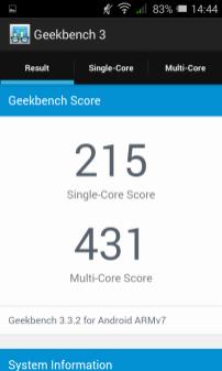 GeekBench 2