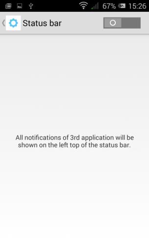 Pixi 2 - Status Bar