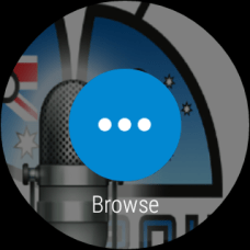 Pocket Cast - Android Wear - Browse