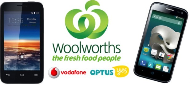 Woolworths Voda & Optus Special