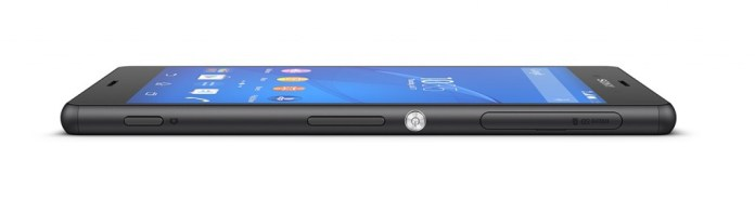 Sony Z3 side
