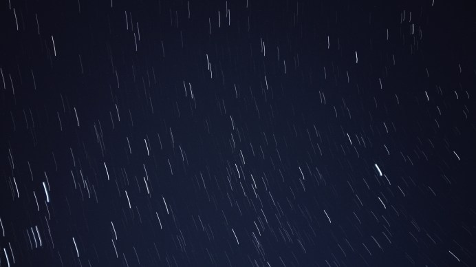 Star Trails - 10 Minutes exposure