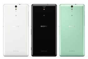 Xperia C5 Ultra - Black, White and Mint