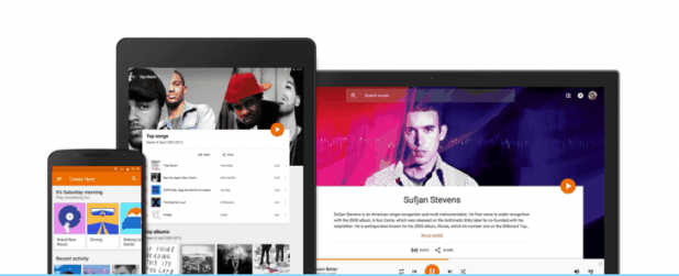 Google Play Music - Families