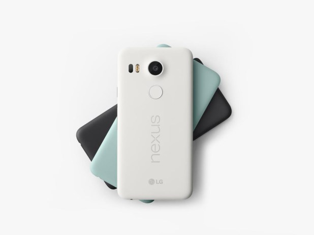 Nexus 5X - Black - White - Blue