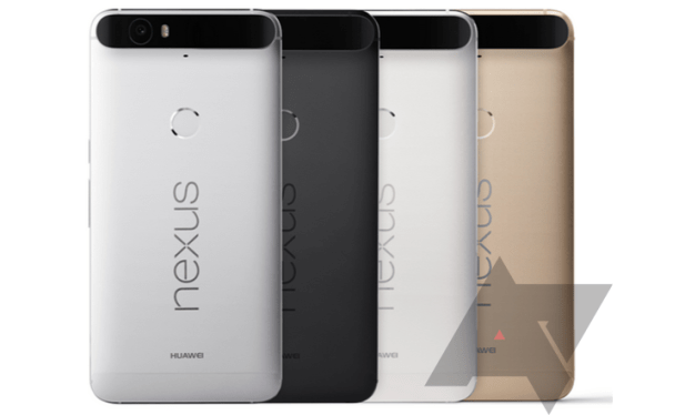 Nexus 6P family press render