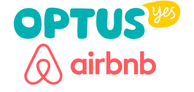 Optus partners with AirBNB to offer a discount for new users and a