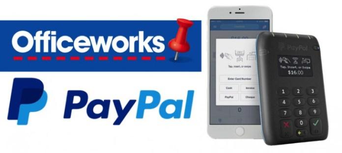 PayPal Tap n Go Officeworks Header Image