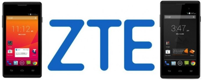 ZTE Boost INDY & Telstra Smart Black Banner