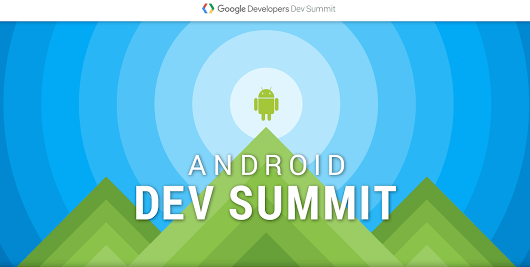 Android Dev Summit Splash