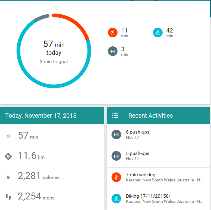 Google Fit update brings Sit Up, Push Up and Squat challenges on