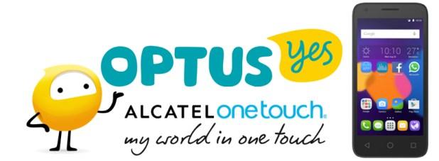Optus Alcatel Pixi 4.5 4G