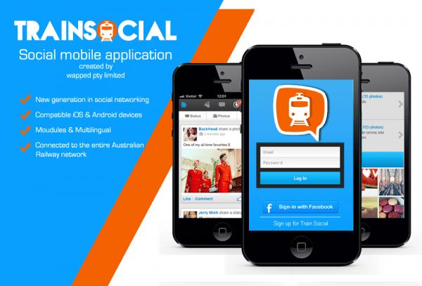 Train Social Main App