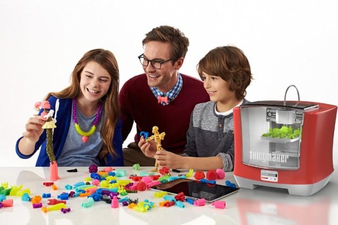 ThingMaker(TM) 3D Printer and ThingMaker Design(TM) App Eco-System (PRNewsFoto/Mattel, Inc.)