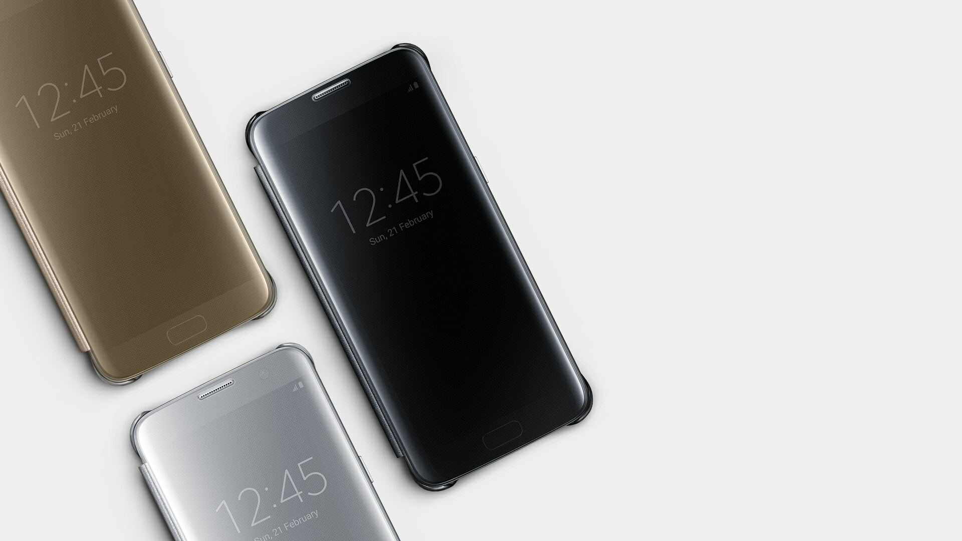 Galaxy S7 Edge Clear View Cover