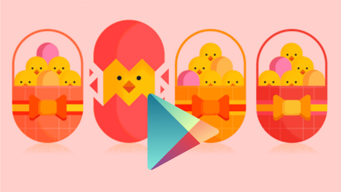 Easter Google Play