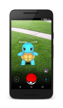 Squirtle encounter screen