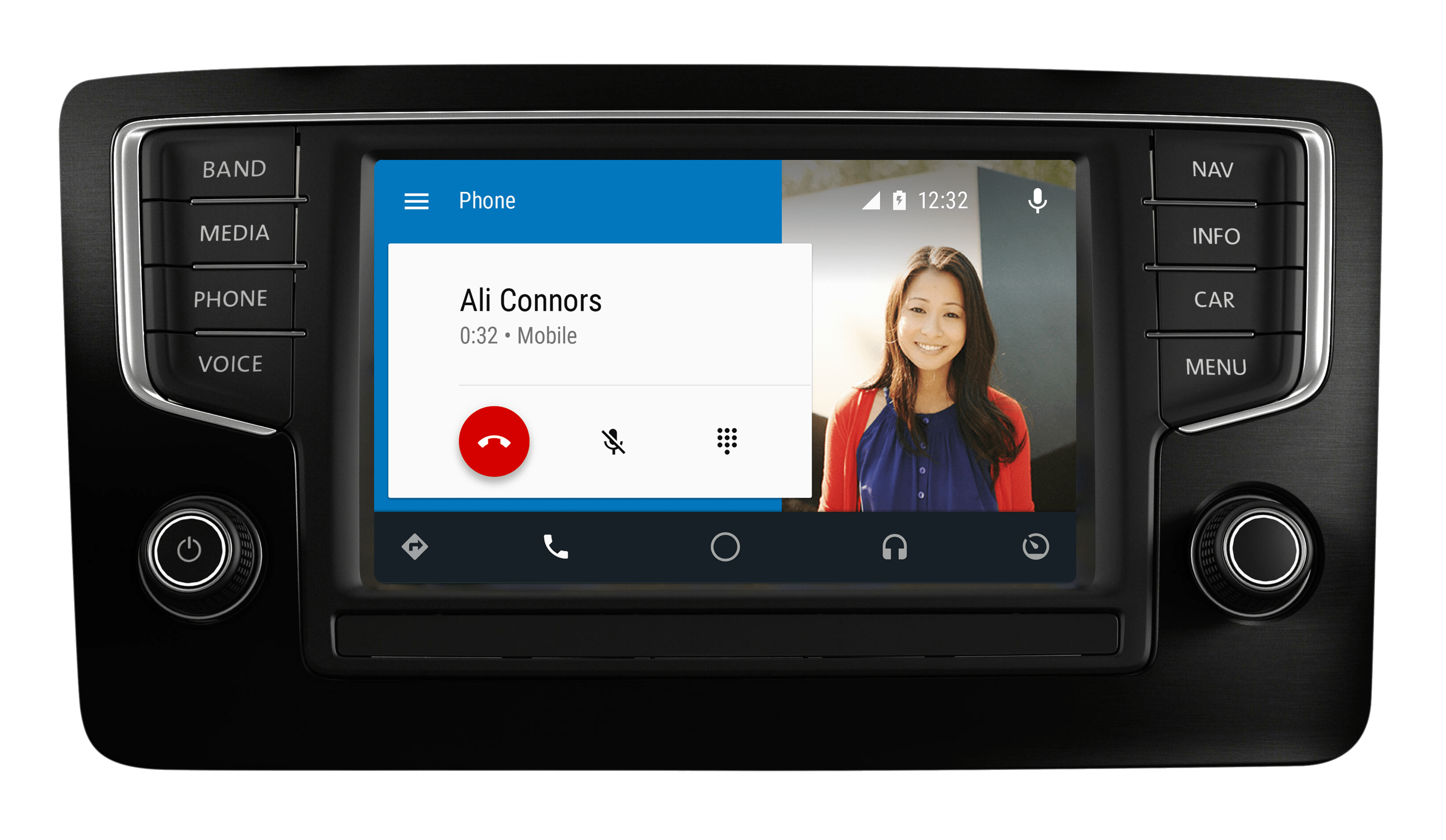 Android Auto - Dialer