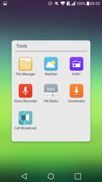 DAB+ Tools Folder