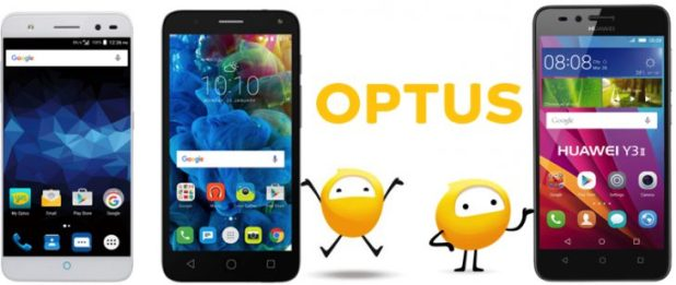 Optus Prepaid devices Jun2016