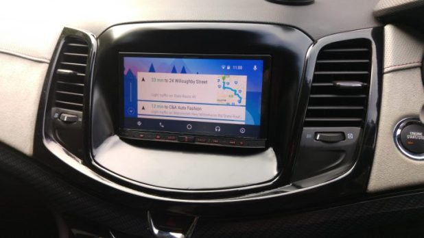 Review - Pioneer AVIC-F70DAB and Android Auto - Ausdroid