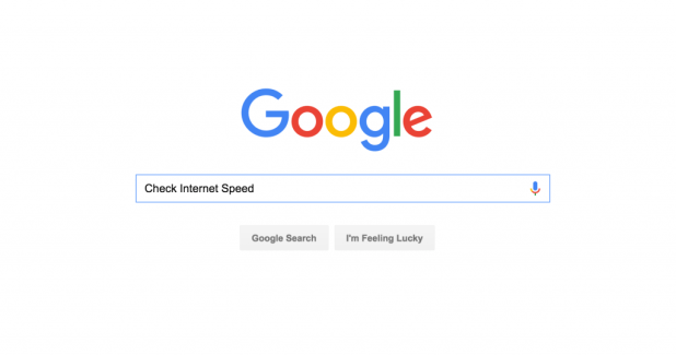 Google Check Internet Speed